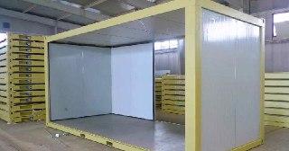 Сэндвич-панели для холодильных камер под ключ в Краснодаре цена от 1350 руб