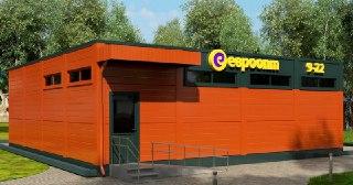 Магазин из сэндвич панелей Краснодар от 72674 руб.